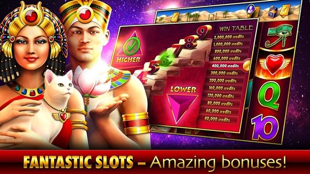 Download Sekarang, Ada Judi Slots - Pharaoh' Fire di Playstore Loh!